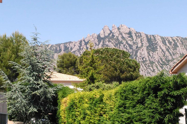 vistas montserrat barcelona - This villa in Barcelona has everything to enjoy nature and life