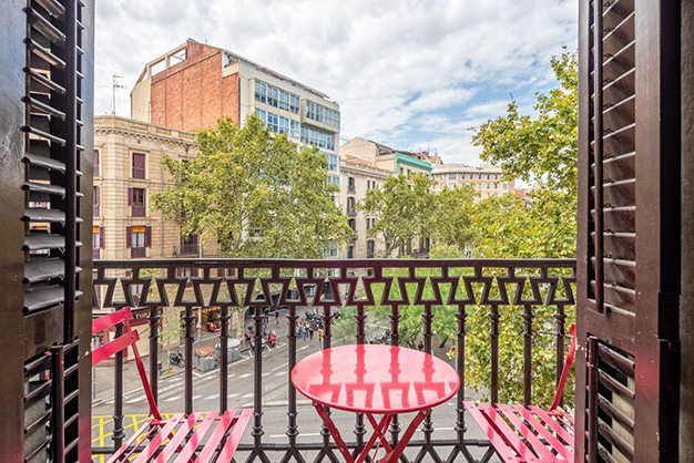 vistas piso centro barcelona 2 - Apartment in the historic centre of Barcelona: design and luxury to enjoy the Ciutat Vella