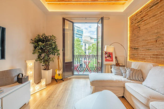 vistas piso centro barcelona - Apartment in the historic centre of Barcelona: design and luxury to enjoy the Ciutat Vella